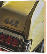 1972 Oldsmobile 442 Wood Print