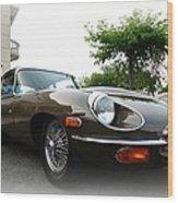 1973 Jaguar Type E Wood Print