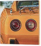 1977 Chevrolet Corvette Wood Print