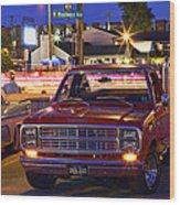 1979 Dodge Li'l Red Express Truck Wood Print