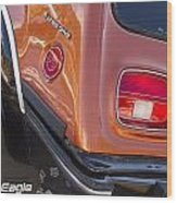 1983 Amc Eagle 4 Wheel Drive Wood Print