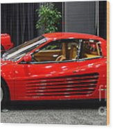1987 Ferrari Testarossa . 7d9399 Wood Print