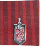 1988 Monte Carlo Ss Crest And Shield Emblem Wood Print