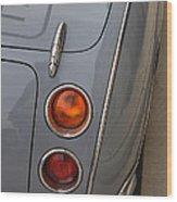 1991 Nissan Figaro Taillights Wood Print