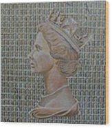 1st Class Queen Wood Print