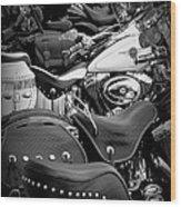 2 - Harley Davidson Series Wood Print