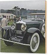 1929 Minerva Type Am Murphy Convertible Sedan Wood Print