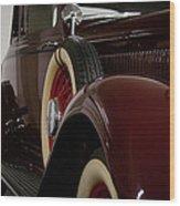 1933 Dodge Dp Rs 2 Door Coupe Wood Print