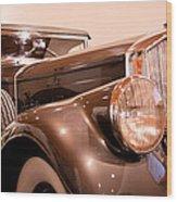1933 Pierce-arrow 12 Model 12412 Labaron Convertible Coupe Wood Print