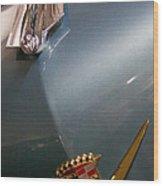 1955 Cadillac Eldorado 2 Door Convertible Wood Print by David Patterson