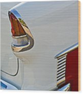 1955 Chevrolet 210 Taillight Wood Print