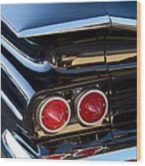 1959 Chevrolet El Camino Taillight Wood Print