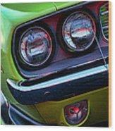 1971 Plymouth Hemicuda Wood Print