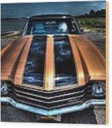 1972 Chevelle Wood Print