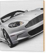 2009 Aston Martin Dbs Wood Print