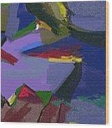 A Landscape Wood Print