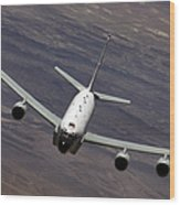 A U.s. Air Force Rc-135 Rivet Joint Wood Print
