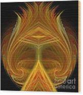 Abstract 103 Wood Print