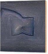 Abstract Ice Wood Print