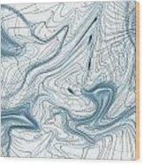Abstract Pattern Art Wood Print