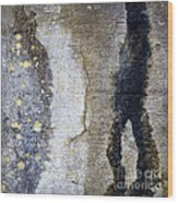 abstracts of Fort Stevens Wood Print