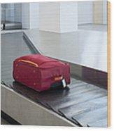 Airport Baggage Claim Wood Print by Jaak Nilson