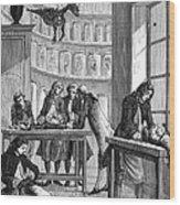 Albrecht Von Haller Wood Print