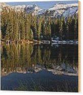 Alta Lakes Wood Print