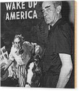 American Artist And Cartoonist James Wood Print
