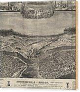 Andersonville Prison, 1864 Wood Print