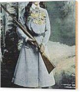 Annie Oakley (1860-1926) Wood Print