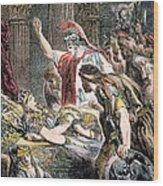 Antony & Cleopatra Wood Print