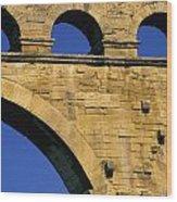 Aqueduc Du Pont Du Gard.provence Wood Print