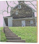 Audubon's House Wood Print