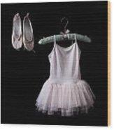 Ballet Dress Wood Print