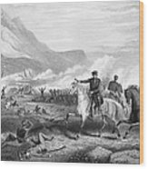 Battle Of Buena Vista, 1847 Wood Print by Granger