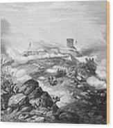 Battle Of Chapultepec, 1847 Wood Print