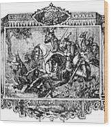 Battle Of Fallen Timbers Wood Print by Granger