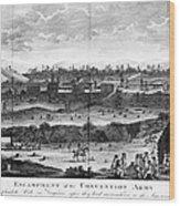Battle Of Saratoga, 1777 Wood Print