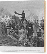 Battle Of Spotsylvania Wood Print