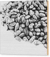 Beans Wood Print