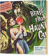 Beast From Haunted Cave, Sheila Carol Wood Print by Everett