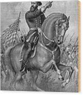 Benjamin Harrison, 23rd American Wood Print