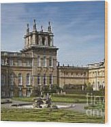 Blenheim Palace Wood Print