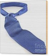 Blue Tie Wood Print by Blink Images
