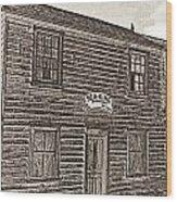 Boat Builders Cottage Wood Print
