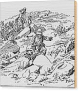Boer War, 1899 Wood Print