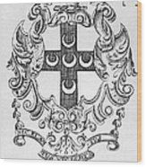 Bookplate, 18th Century Wood Print