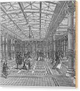 Brighton Aquarium, 1872 Wood Print