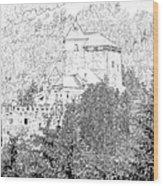 Burg Reifenstein Sterzing Italy Wood Print
